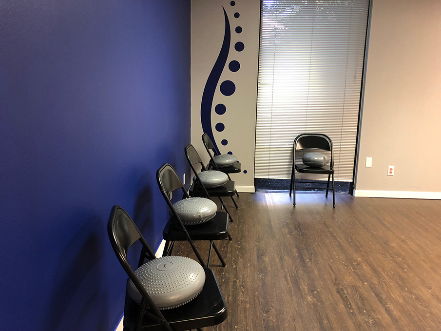 clear creek chiropractic center exercise room